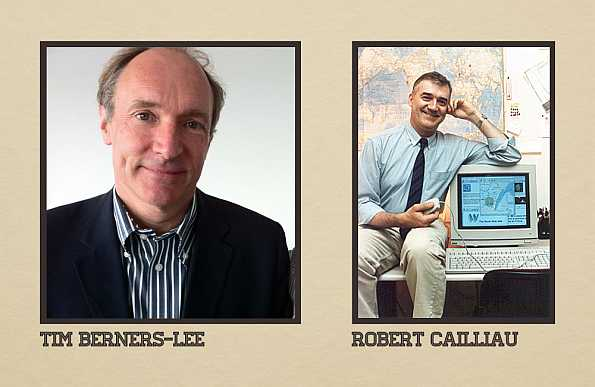 Tim Berners Lee Robert Cailliau