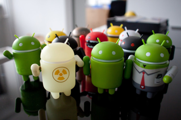 android mascottes